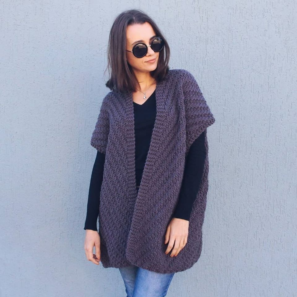 Latest And Trendy Crochet Cardigan And Sweater Patterns