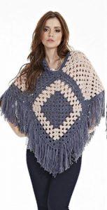 Crochet Poncho Free