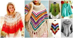 Free Crochet Poncho Ideas And Patterns To Follow