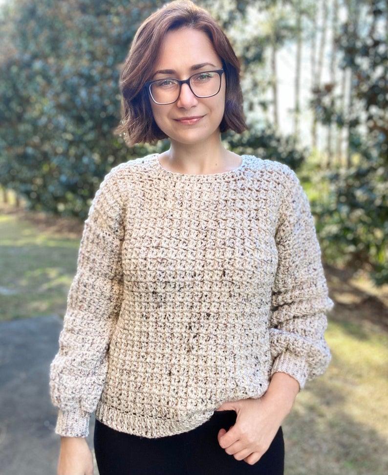 Crochet Sweater Design