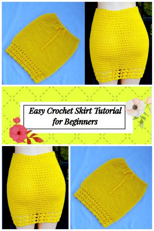 Easy Crochet Skirt Tutorial for Beginners