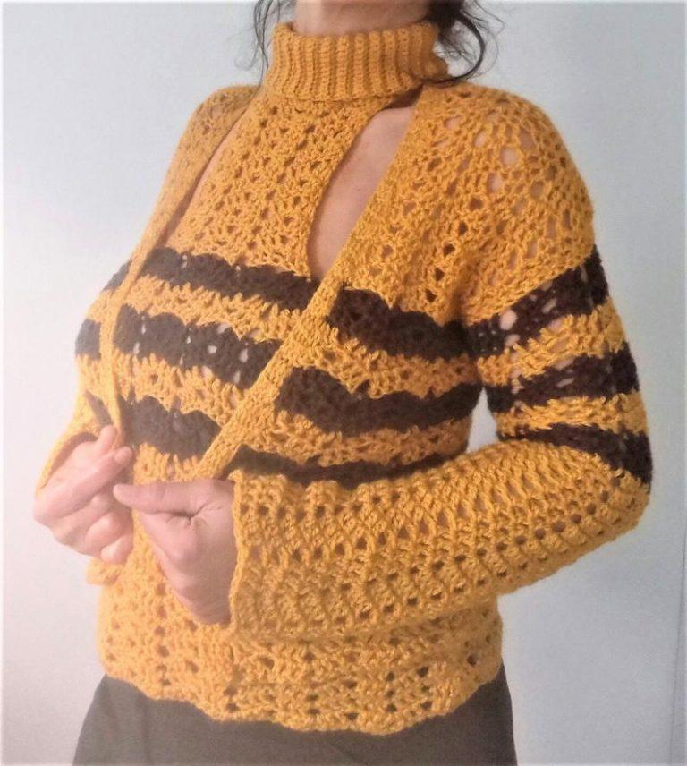 crochet top, crochet cardigan,