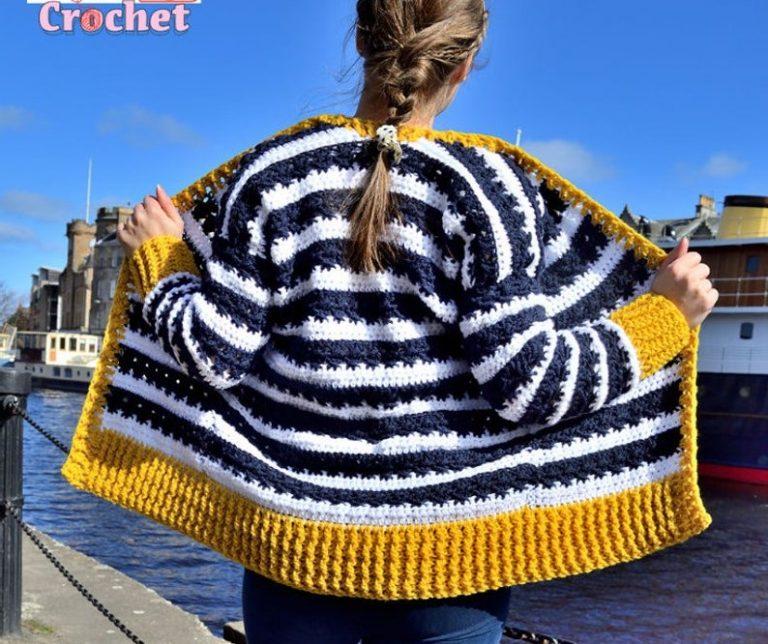 Crochet Summer Sweater Pattern