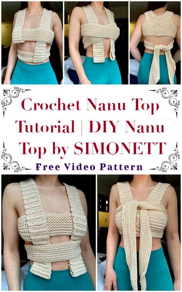 Crochet Nanu Top Tutorial