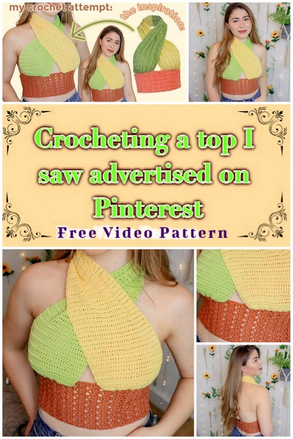 Crocheting a top
