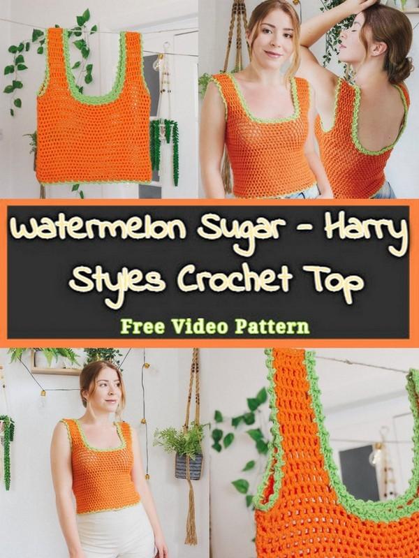 Watermelon Sugar - Harry Styles Crochet Top