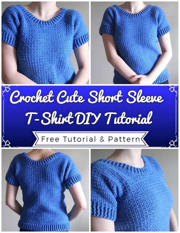 Crochet Cute Short Sleeve