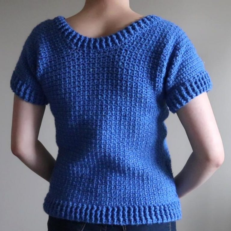 Crochet A Classic Spring Ribbed