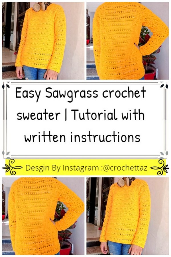 Sawgrass crochet sweater