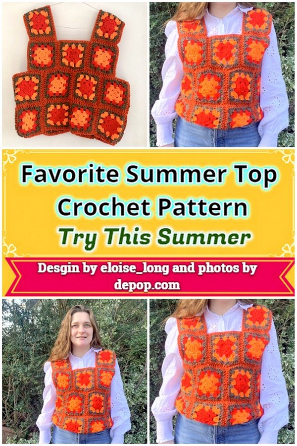 Favorite Summer Top Crochet Pattern