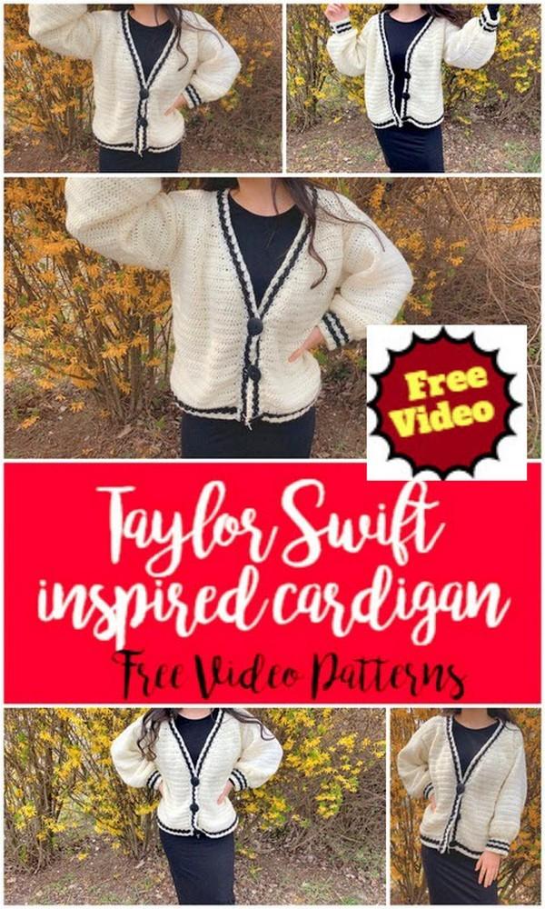 Swift inspired cardigan