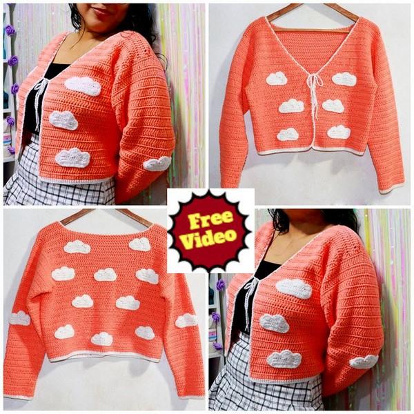 Cardigan CROCHET - Sweater