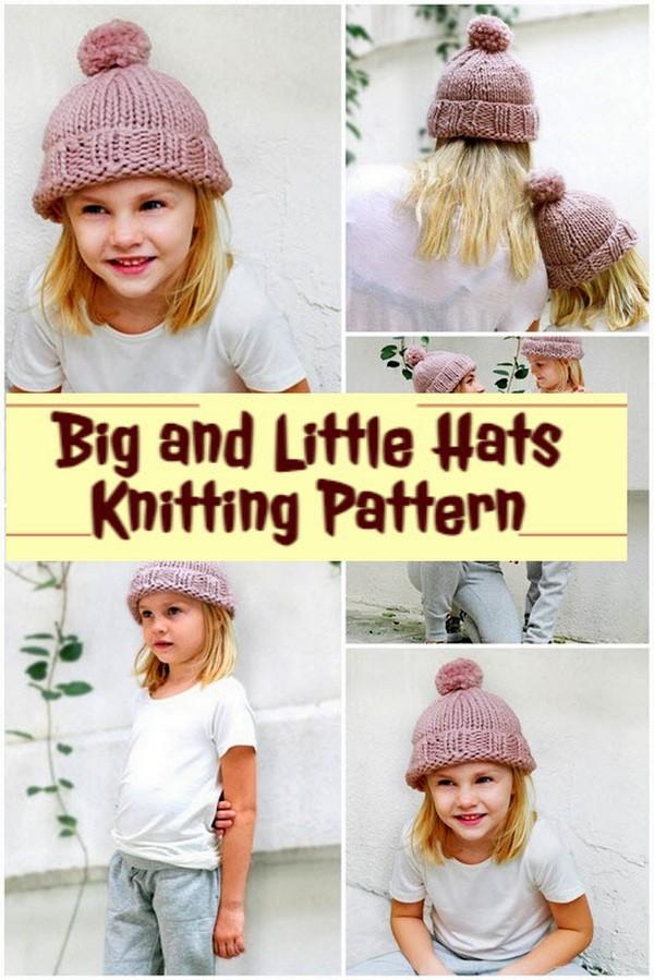 Little Hats Knitting Pattern