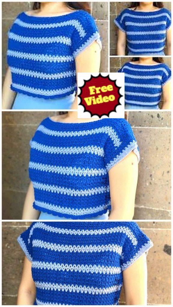 Half Sleeves Top Pattern